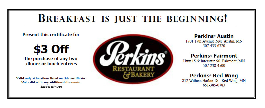perkins restaurant coupons